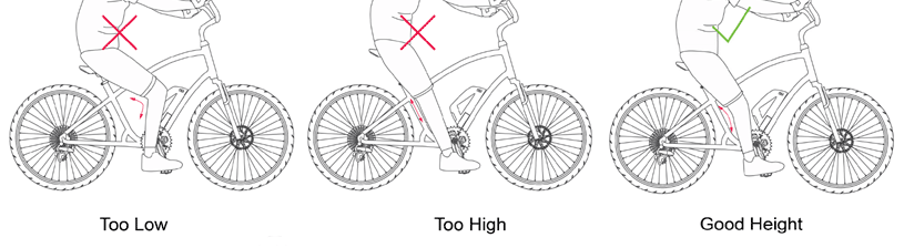 bike size charts: six different methods + charts for each bicycle type!