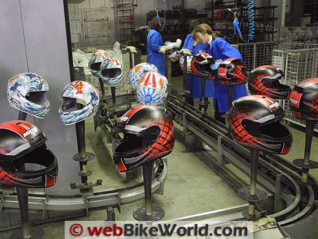how to make a motorcycle helmet
