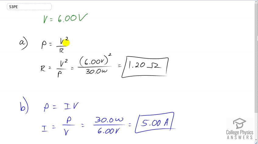 openstax college physics solution, chapter 20, problem 53 (problems & exercises)