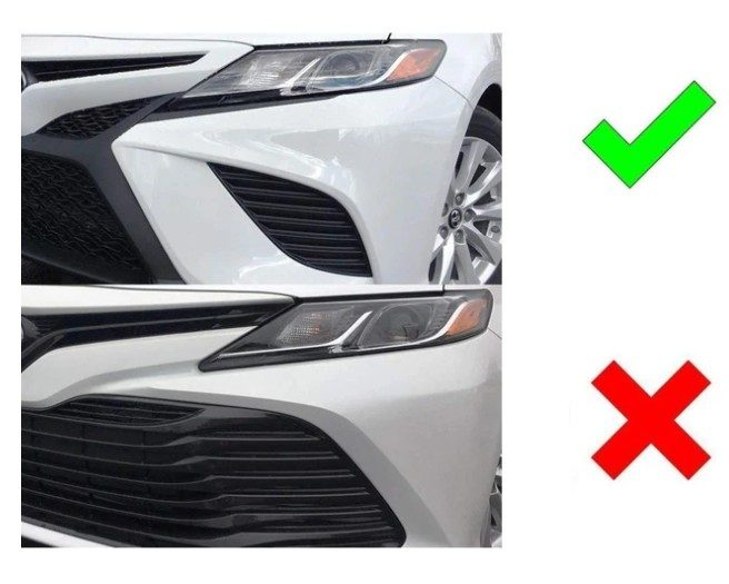what headlight bulbs fit toyota camry