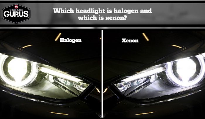 halogen vs. xenon headlights. what are the differences?