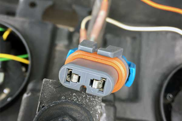more than one way to melt a headlight harness