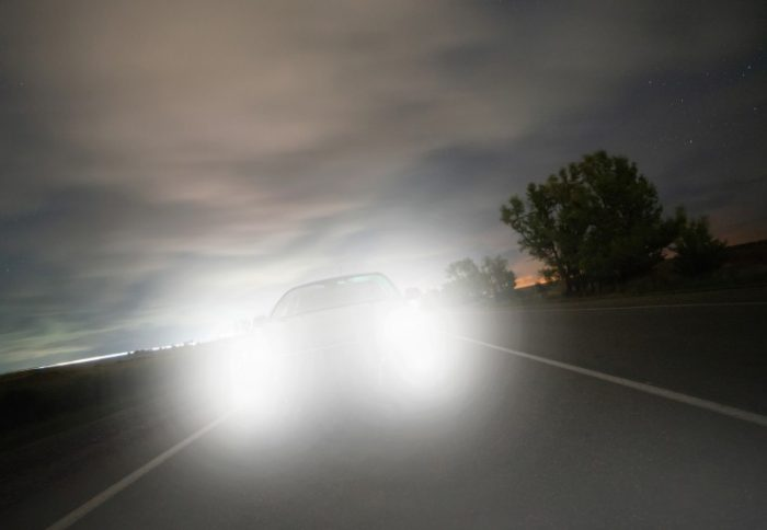 don't get dazzled by headlight glare