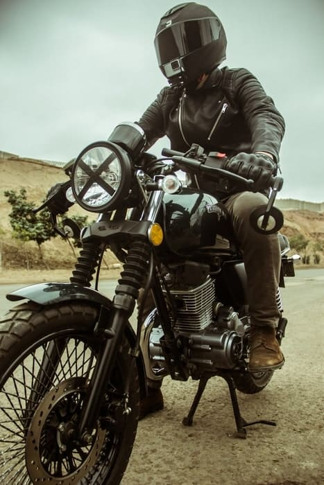 why do cafe racers have an x on the headlight? | motorcycle habit