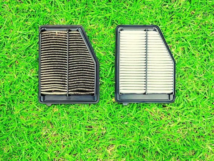 What is a cabin air filter - dirty cabin air filter