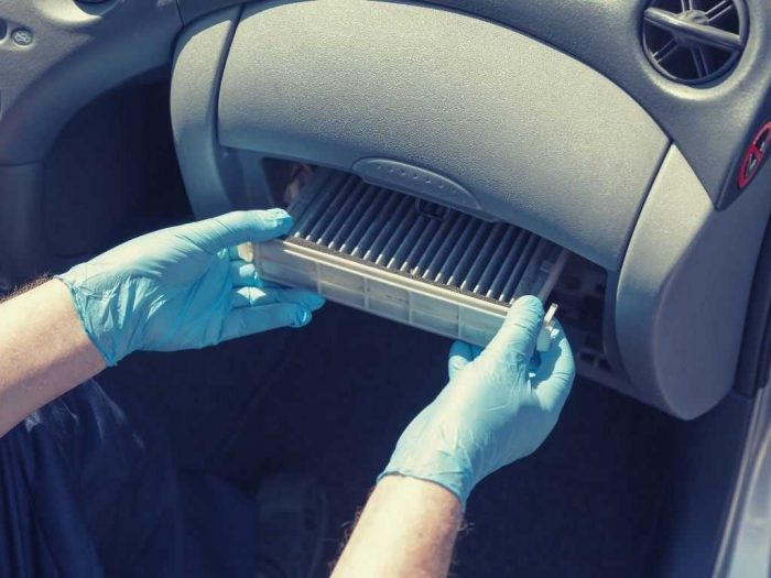 What is a cabin air filter - location