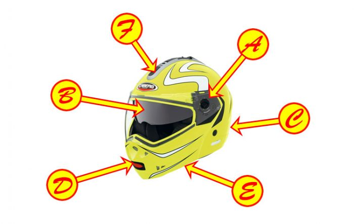 10 things to look out for when buying a crash helmet