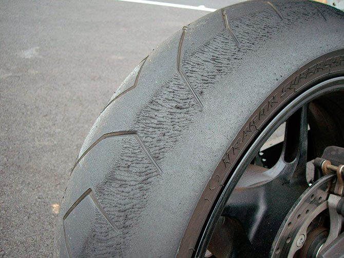 Why Do Motorcycle Tyres Tend To Wear More On The Right Hand Side?   Cambrian Tyres – The UK's No.1
