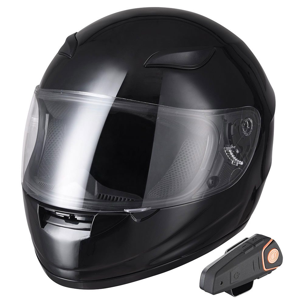 Amazon.com: 3T6B Wireless Stereo Motorcycle Helmet Headset Work w/Bluetooth 4.1, 8 Hours Working Time Helmet Headphones w/Hands-Free Microphone for Motorcycle Motorbike Skiing, Music Call Control : Automotive