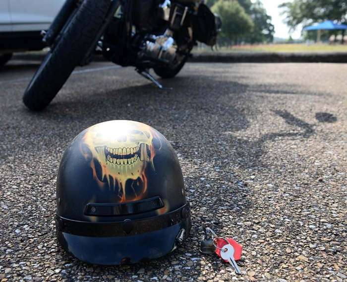 Why Don't We Make Motorcycle Helmets Out of Metal? | BikersRights