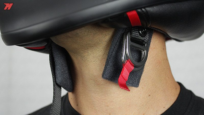 How to Lace a Helmet D-Ring Chin Strap