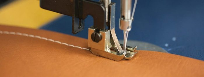 sewing on leather | superiorthreads.com