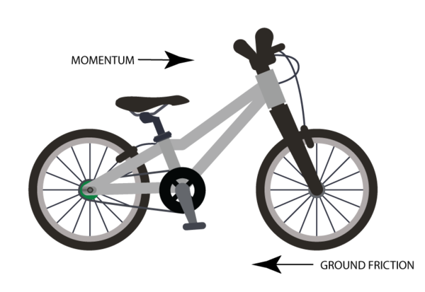 Why Rear Wheels on Bikes Skid so Easily & How to Teach Kids to Use Both Brakes