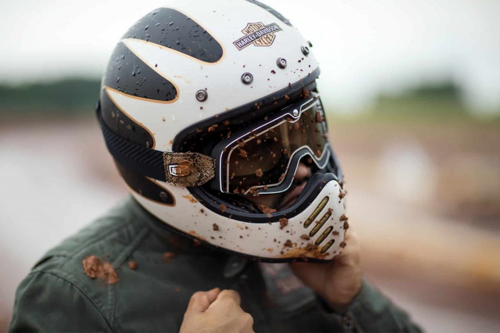 How To Get a Scratch Off a Motorcycle Helmet