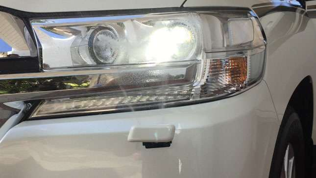 Ever wonder what the rectangles are in front of your headlights?