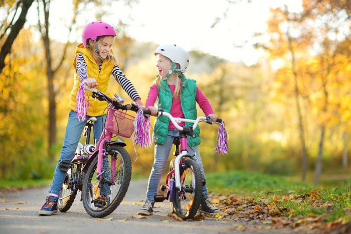 helmet size charts for bike & recreational, adult & youth