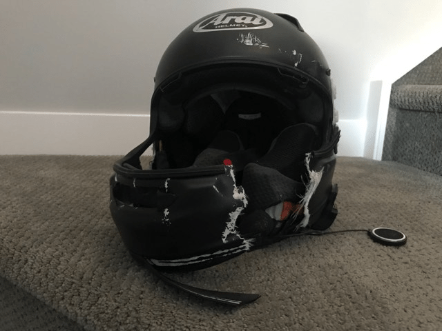 the impact: why you should be riding in a full face helmet