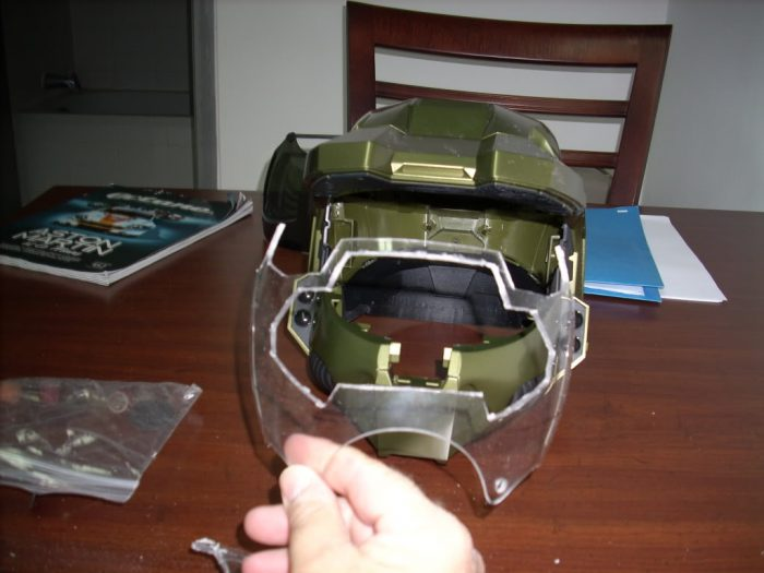 tutorial: make & paint your own see-through visor