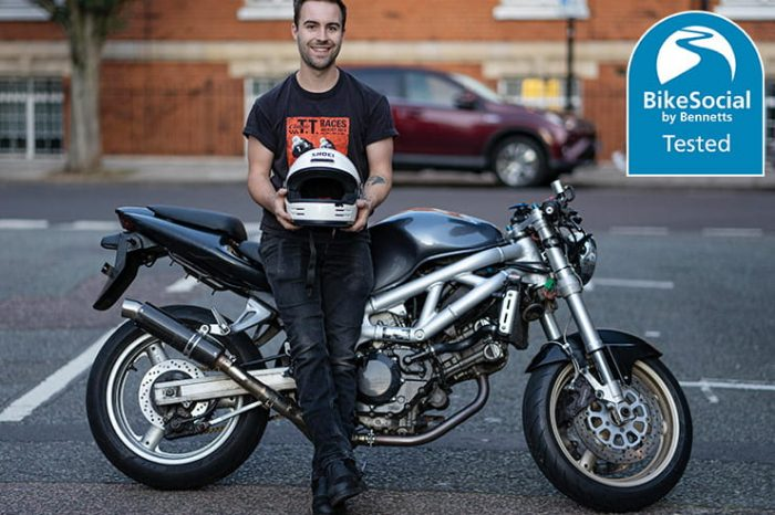 does dropping a motorcycle helmet ruin it?