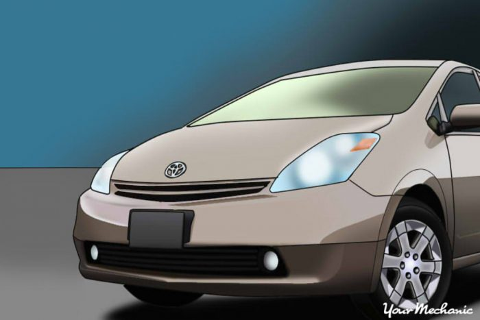 how to replace the headlights on a toyota prius | yourmechanic advice