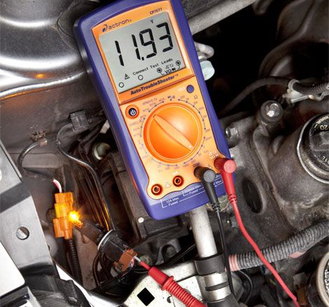 how to diagnose car electrical problems by tracing voltage drops