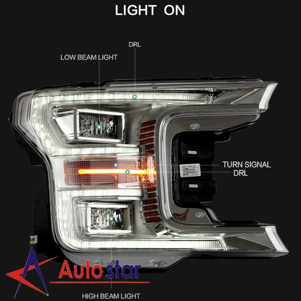 what replacement led headlight for 2017 f150