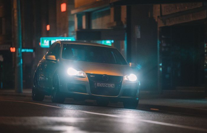 what headlight to use when fog