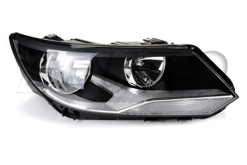 what are headlight lens made out of audi