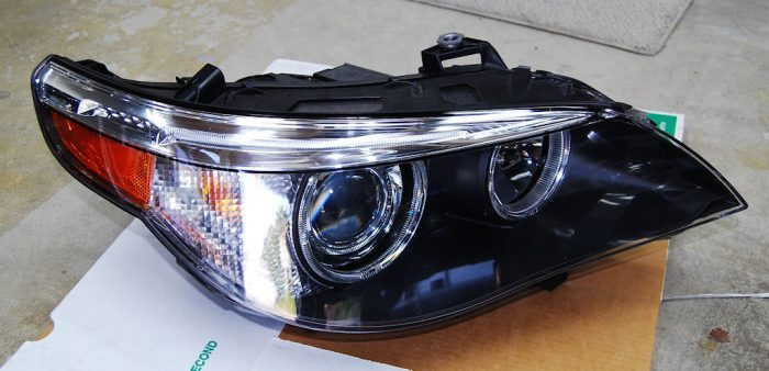 what is the lense on a headlight