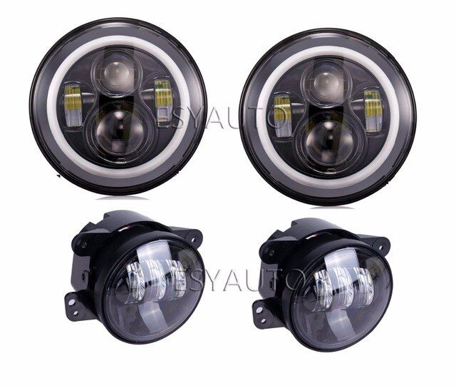 what is the headlight size of 2011 jeep wrangler