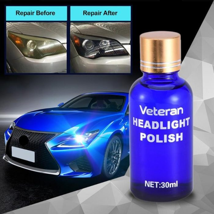 what can you use to clean headlight lenses